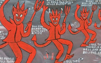 Dancing devils.