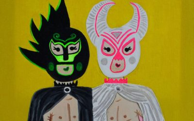 Mexican wrestlers.