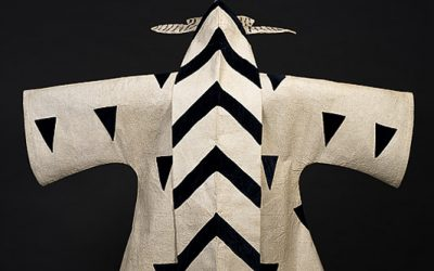 Ballet Russe costumes were vivid and graphic.