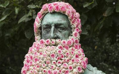 Guerilla florist.
