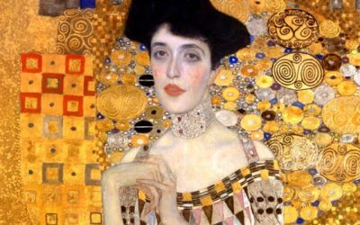 The woman who sewed glorious golden dresses for Gustav Klimt.