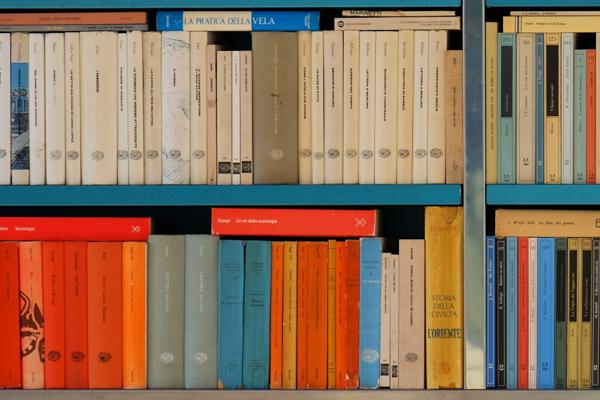 Credibility bookcase.