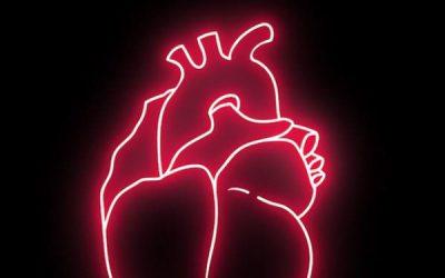 Neon heartbeat.